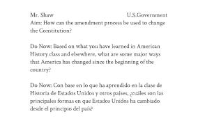 The Amendment Process By David Shaw On Prezi