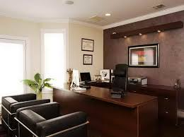 formal brown home office