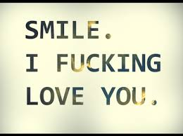 cute i love you love smile text favim