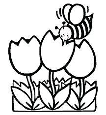Free Color Pages Spring Coloring Pages For Spring Spring Color