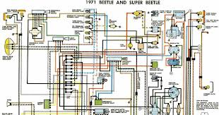 auto wiring diagram vw beetle and super beetle