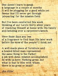 Jim Elliot Quotes 77 Inspiration 24 Best Jim And Elizabeth Elliott And Five Missionary Martyrs