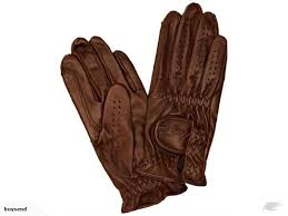 mark todd kids show leather riding glove dark brown 10 12 years gloves trade me