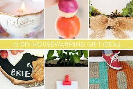 Roundup: 10 Easy DIY House Warming Gifts