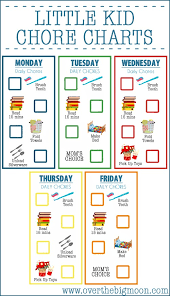 Daily Chores Checklist 10 Free Printable Chore Charts For Kids