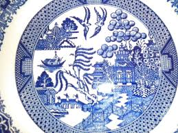 Blue Willow Pattern Awesome Design Ideas