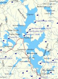 Moosehead Lake Maine Map Related Keywords Suggestions
