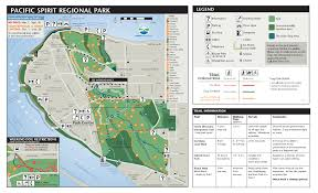 Pacific Spirit Regional Park Map