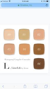 Limelight By Alcone Concealer Chart Limelife By Alcone Concealer Shades In 2019 Concealer