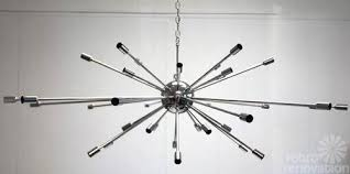 retro renovation sputnik chandelier