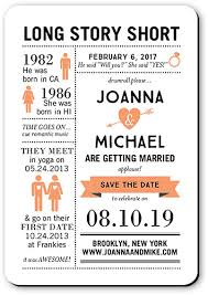 How To Make A Save The Date Card Long Story Short Save The Dates In 2019 Wedding Paper