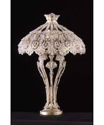 lighting table lamp chandelier style crystal pink shades photos schonbek rivendell inch antique table