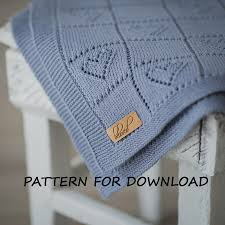 Free Knitting Patterns For Baby Blankets Unique Inspiration Design