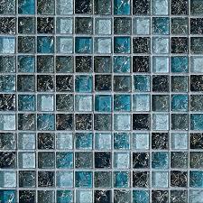 mosaic glass tiles le glass tile 1 x 1 led glossy glass tile mosaic blue blend mosaic glass tiles