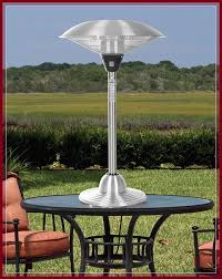 fire sense round table top infrared patio heater fire sense indoor outdoor