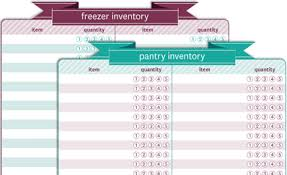 Free Printable Food Inventory Sheet Download Them Or Print