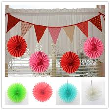 diy paper fan decor retail pcs inch diy paper fan for garden decor on diy