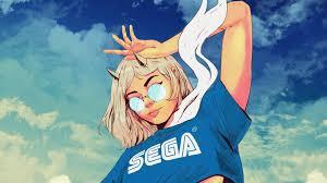 Sega Retro Anime Aesthetic Desktop ...