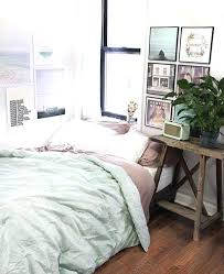 different bedroom styles different colors and bedding and pictures but the  layout is nice mint bedroom