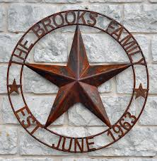 personalized handmade metal art made in texas