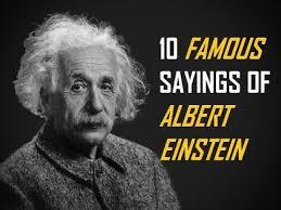 Famous Sayings