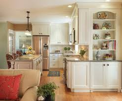 Kitchen Island Open Shelves Family Room Cabinet Kitchen Transitional With Kitchen Island