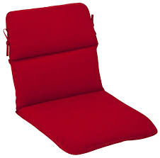 outdoor patio furniture high back chair cushion venetian red with outdoor high back chair cushions