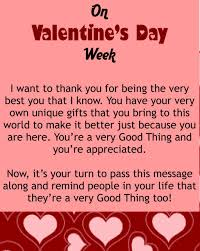 good valentines messages
