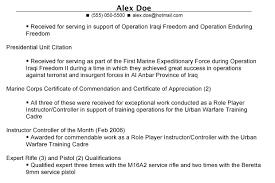 resumes for veterans