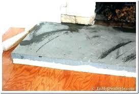 fireplace hearth stone ideas concrete fireplace hearth ideas how to paint a concrete hearth to look