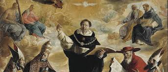 lessons from thomas aquinas for president trump the imaginative  francisco de zurbaran apotheosis of saint thomas aquinas