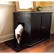 Decorative Cat Litter Box Covers Decorating Litter Box Cabinet Two Door Cat Furniture Walmart 24