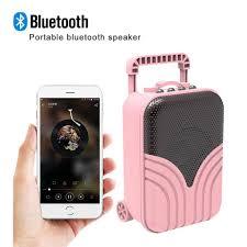 Loa Bluetooth Chống nước ngoài trời Trình phát nhạc không dây Không dây Loa  Hỗ trợ Thẻ TF Đài FM Đầu vào AUX