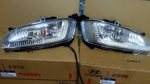 2013 Santa Fe Fog Light Replacement 2013 2016 Hyundai Santa Fe Sport Fog Light Lamp Complete Kit