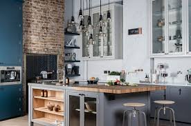 ComfyDwelling.com  Blog Archive  30 Functional Industrial Kitchen Designs