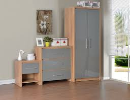 Oak Veneer Bedroom Furniture Seconique Plc Product Info