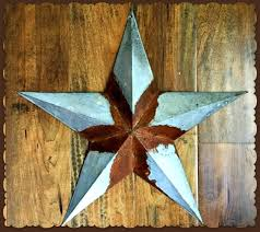 barn star galvanized metal wall decor