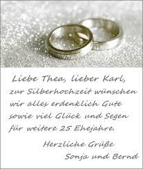 Hochzeit Blog Glueckwuensche Silberhochzeit