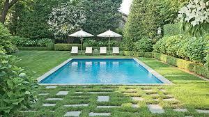 Infinity Pool Backyard Minimalist New Decorating Ideas