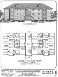 Emejing 8 Unit Apartment Building Plans Contemporary  Home Design 12 Unit Apartment Building Plans