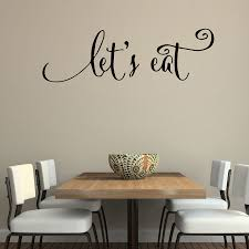 wall quotes decals let s eat kitchen quotes stickers dining room wall decals vinyl decal family lettering on eat kitchen wall art with wall quotes decals let s eat kitchen quotes stickers dining room