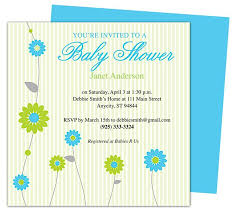 Retro Baby Shower Party Invitation Templates Edit Yourself
