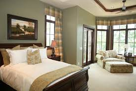 traditional bedroom ideas with color. Design Ideas For A Traditional Bedroom With Green Walls Color