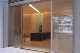 automatic sliding doors repair glass