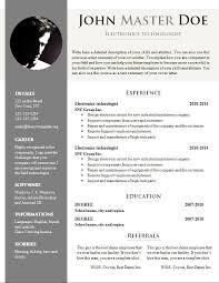 Download Cv Format Doc Fieldstationco Best Resume Template Download