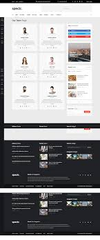 Newspaper Html Template Spectr Is A Responsive Html Template Best Suitable For News