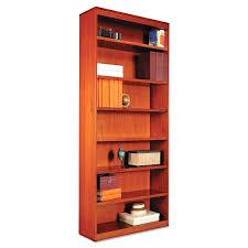 cherry bookcases dark cherry bookcase with glass doors