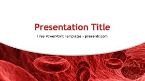 Free Hematology Powerpoint Template Prezentr Ppt Templates