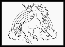Bella Disegni Da Colorare Unicorni Con Le Ali Galleria Disegni Da
