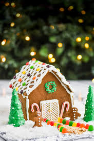 Ideas using gingerbread christmas home decorations Diy Ginger Bread House Recipe Fully Decorated Wine Glue Gingerbread House Recipe Wine Glue